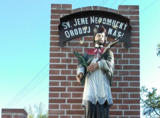 Socha sv. Jana Nepomuckého Zbislav