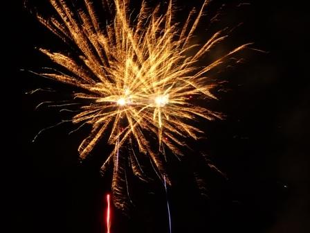 Novoroční ohňostroj - video