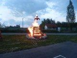 Pálení čarodějnice Zhoř 2012