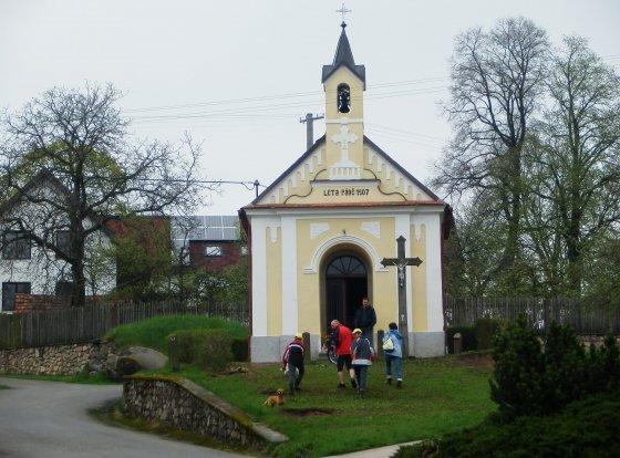 Kaple ve Zhoři